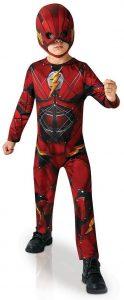 Disfraz de The Flash para niños 5-6 años - Los mejores disfraces de The Flash - Disfraz de The Flash de DC