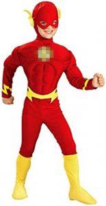Disfraz de The Flash para niños Multitalla 2 - Los mejores disfraces de The Flash - Disfraz de The Flash de DC