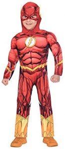 Disfraz de The Flash para niños Multitalla 4 - Los mejores disfraces de The Flash - Disfraz de The Flash de DC