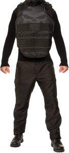 Disfraz de The Punisher para hombre Talla única - Los mejores disfraces de The Punisher - Disfraz de The Punisher de Marvel