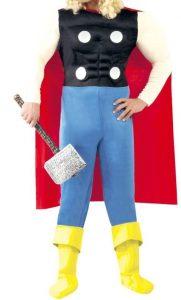 Disfraz de Thor para adultos Multitalla clásico - Los mejores disfraces de Thor - Disfraz de Thor de Marvel