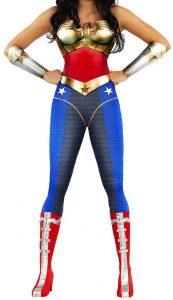 Disfraz de Wonder Woman para adultos Multitalla 4 - Los mejores disfraces de Wonder Woman - Disfraz de Wonder Woman de DC