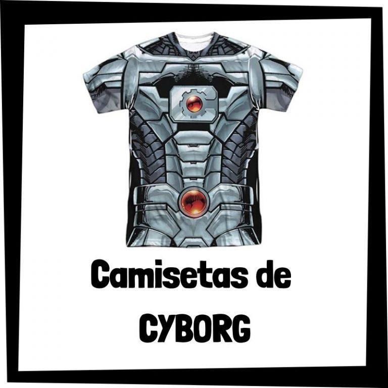 Lee más sobre el artículo Camisetas de Cyborg