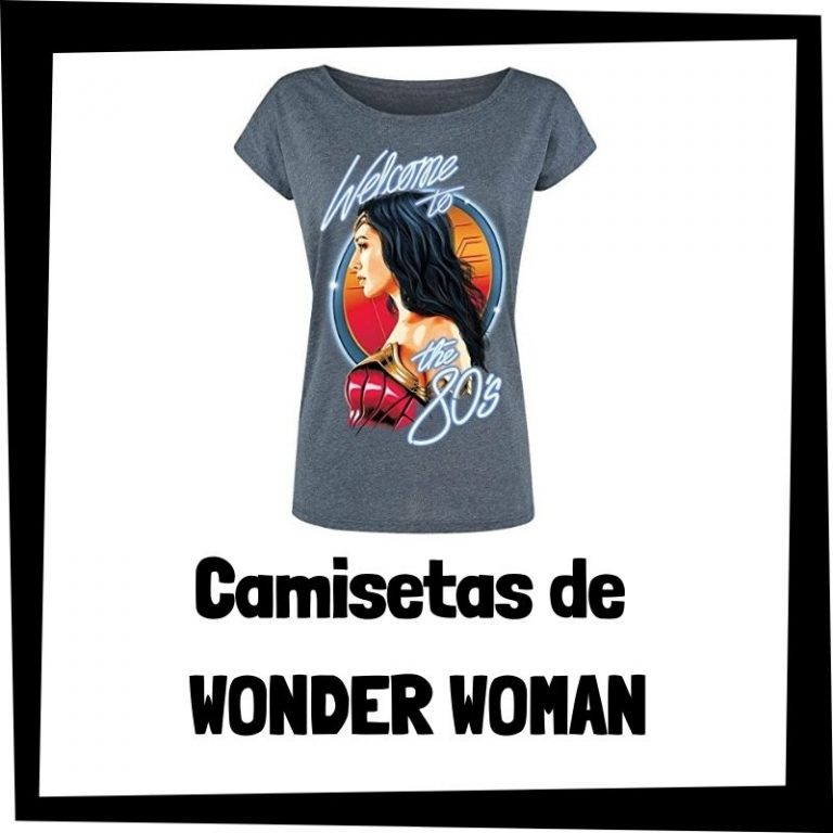 Lee más sobre el artículo Camisetas de Wonder Woman