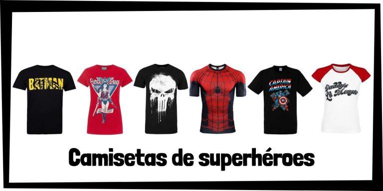 Las mejores camisetas de superhéroes de Marvel y DC - Productos de camisetas de los Vengadores y la Liga de la Justicia - Comprar camisetas de Marvel y de DC