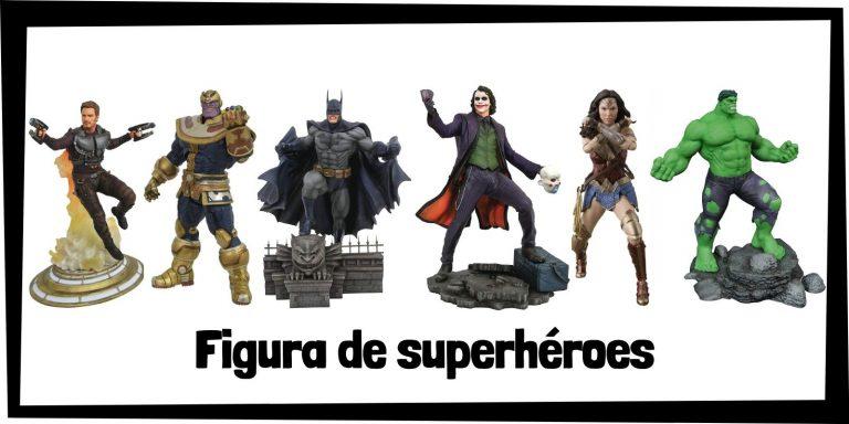 Las mejores figuras de superhéroes de Marvel y DC - Productos de figuras de los Vengadores y la Liga de la Justicia - Comprar figuras de Marvel y de DC