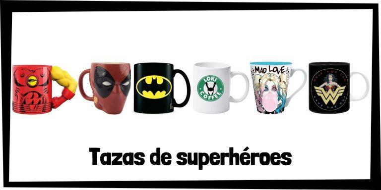 Las mejores tazas de superhéroes de Marvel y DC - Productos de tazas de los Vengadores y la Liga de la Justicia - Comprar tazas de Marvel y de DC