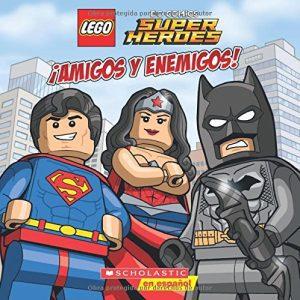 Lego DC Super Heroes amigos Y Enemigos - Las mejores enciclopedias de superhéroes y villanos de DC - Enciclopedia de DC