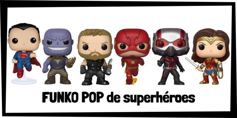 Los mejores FUNKO POP de superhéroes de Marvel y DC - Productos de FUNKO POP de los Vengadores y la Liga de la Justicia - Comprar FUNKO POP de Marvel y de DC