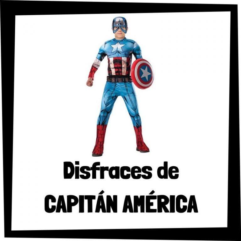 Lee más sobre el artículo Disfraces de Capitán América