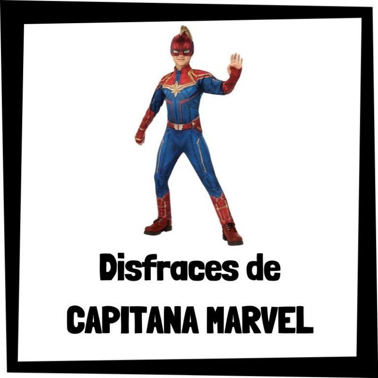 Lee más sobre el artículo Disfraces de Capitana Marvel