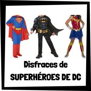 Los mejores disfraces de superhéroes de DC- Disfraces baratos de superhéroes - Comprar disfraz de superhéroe de DC