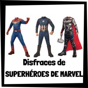 Los mejores disfraces de superhéroes de Marvel - Disfraces baratos de superhéroes - Comprar disfraz de superhéroe de Marvel