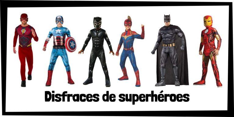 Los mejores disfraces de superhéroes de Marvel y DC - Productos de disfraces de los Vengadores y la Liga de la Justicia - Comprar disfraces de Marvel y de DC