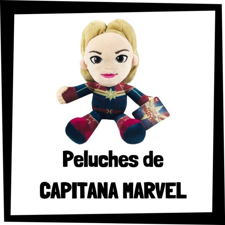 Peluches de Capitana Marvel