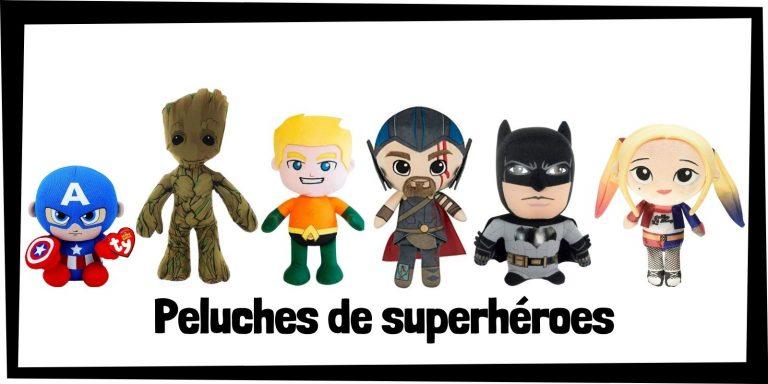 Los mejores peluches de superhéroes de Marvel y DC - Productos de peluches de los Vengadores y la Liga de la Justicia - Comprar peluches de Marvel y de DC