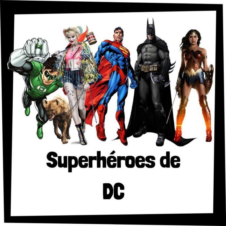 Lee más sobre el artículo Superhéroes de DC