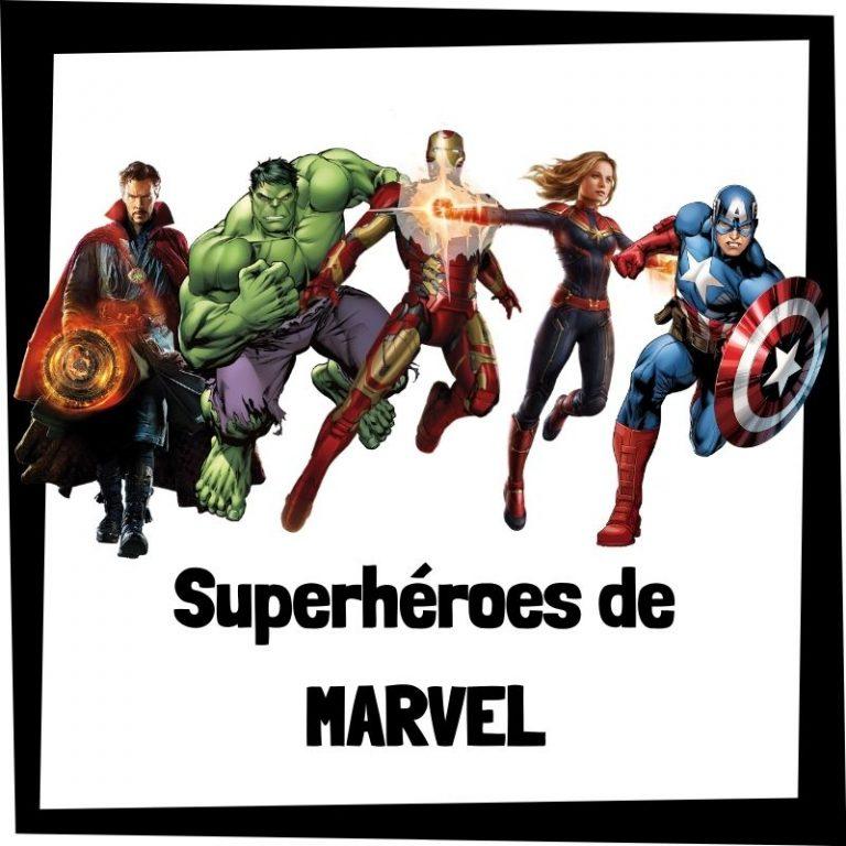 Lee más sobre el artículo Superhéroes de Marvel