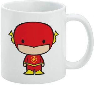 Taza Kawai de Flash - Las mejores tazas de Flash - Tazas de DC