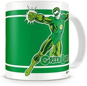 Taza Linterna Verde en acción - Las mejores tazas de Green Lantern - Tazas de DC