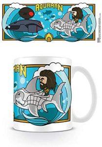 Taza de Aquaman vs Black Manta - Las mejores tazas de Aquaman - Tazas de DC