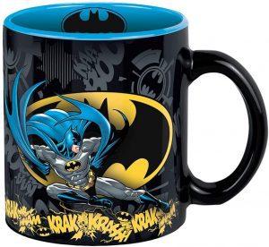 Taza de Batman en acción - Las mejores tazas de Batman - Tazas de DC