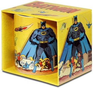 Taza de Batman retro - Las mejores tazas de Batman - Tazas de DC