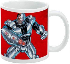Taza de Cyborg de JL - Las mejores tazas de Cyborg - Tazas de DC