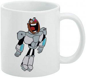 Taza de Cyborg de Teen Titans - Las mejores tazas de Cyborg - Tazas de DC