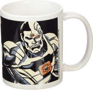 Taza de Cyborg de comic - Las mejores tazas de Cyborg - Tazas de DC