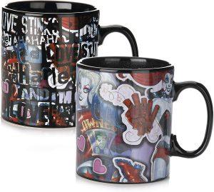 Taza de Harley Quinn cambio de calor - Las mejores tazas de Harley Quinn - Tazas de DC