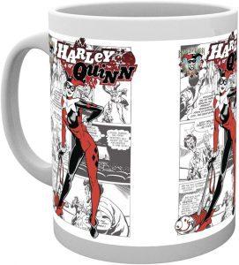 Taza de Harley Quinn comic - Las mejores tazas de Harley Quinn - Tazas de DC