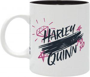 Taza de Harley Quinn letras - Las mejores tazas de Harley Quinn - Tazas de DC