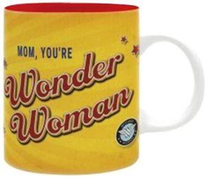 Taza de Mom You Are Wonder Woman - Las mejores tazas de Wonder Woman - Tazas de DC