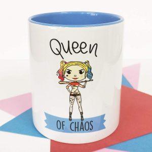 Taza de Queen of Chaos - Las mejores tazas de Harley Quinn - Tazas de DC