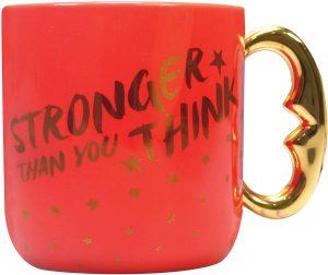 Taza de Stronger Than You Think de Wonder Woman - Las mejores tazas de Wonder Woman - Tazas de DC