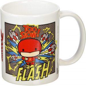 Taza de The Flash Chibi - Las mejores tazas de Flash - Tazas de DC