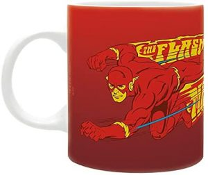 Taza de The Flash corriendo - Las mejores tazas de Flash - Tazas de DC