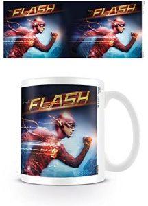Taza de The Flash running - Las mejores tazas de Flash - Tazas de DC