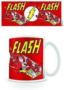Taza de The Flash running clásico - Las mejores tazas de Flash - Tazas de DC