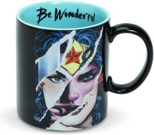 Taza de Wonder Woman Be Wodnerful - Las mejores tazas de Wonder Woman - Tazas de DC