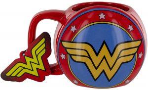Taza de escudo de Wonder Woman - Las mejores tazas de Wonder Woman - Tazas de DC