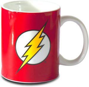 Taza de logo clásico de Flash - Las mejores tazas de Flash - Tazas de DC