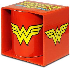 Taza de logo clásico de Wonder Woman - Las mejores tazas de Wonder Woman - Tazas de DC