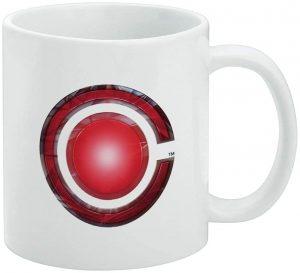 Taza de logo de Cyborg de JL - Las mejores tazas de Cyborg - Tazas de DC