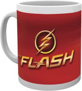 Taza de logo de Flash de la serie - Las mejores tazas de Flash - Tazas de DC