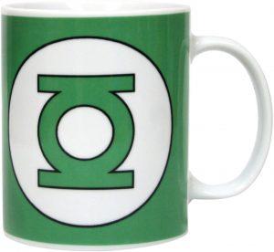 Taza de logo de Linterna Verde - Las mejores tazas de Green Lantern - Tazas de DC