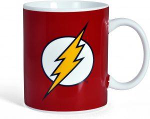 Taza de logo de The Flash - Las mejores tazas de Flash - Tazas de DC