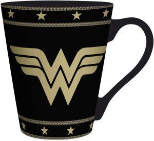Taza de logo de Wonder Woman de comics - Las mejores tazas de Wonder Woman - Tazas de DC