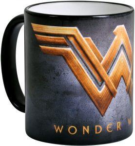 Taza de logo de Wonder Woman película - Las mejores tazas de Wonder Woman - Tazas de DC